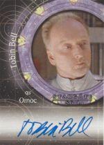美剧 星际之门 Tobin Bell 托宾贝尔 签字 签名 电锯惊魂 竖锯