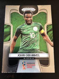 2018 prizm 世界杯 米克尔 尼日利亚 base