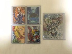 DC bombshells 炮火佳丽 手绘 图中2-1 超女 知名画家2k ebay有价
