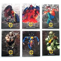 【23ING官方代卖】Fleer X战警系列 漫威宇宙 红骷髅 电索 天谴博士等超级英雄 特卡打包 KT6098
