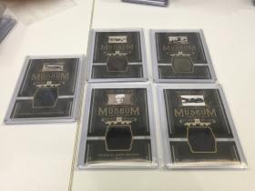 2017 upper deck goodwin 二战 museum 切割 实卡很美 系列 超级稀少 凑套必备 5张打包一起出