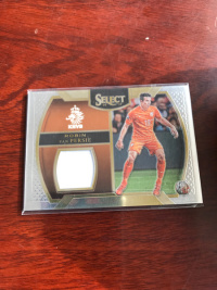select1617 荷兰 阿森纳 曼联 范佩西 横版 球衣卡