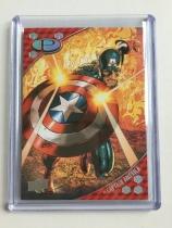 2017 Upper Deck Marvel Premier Card #7 Captain America 025/125 P49