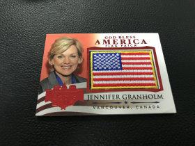 【LZK30】美国 大选 系列   国旗刺绣卡 美国行政人员!