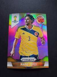 2014世界杯PRIZM PRIZM元年最有价系列 稀有99编紫折 哥伦比亚队长 耶佩斯 AC米兰