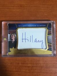 美国大选盒子 希拉里签字