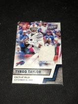 NFL 橄榄球  比尔队 泰勒 四分卫 毛巾卡