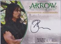 美剧 DC 绿箭侠 Arrow 姚飞 文峰 Byron Mann 签字 签名