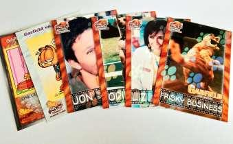 2004 PACIFIC 加菲猫电影、漫画系列 稀有比例猫爪折射6张打包