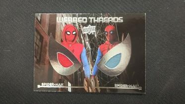 华莱士拍卖    UD  MARVEL  漫威  蜘蛛侠系列  蜘蛛侠  双窗实物卡     XXX
