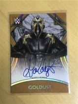2018 Topps WWE Legends (WWE美国职业摔跤)Goldust 签名卡 铜色 平行(限量99,卡签)