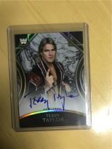 2018 Topps WWE Legends (WWE美国职业摔跤)Terry Taylor 签名卡 黑色 平行(限5)卡签,5/5尾遍