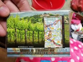 2017 UD Goodwin 古德温 系列 大比例 世界旅行 经典切割版 精美地图卡 法国 波尔多 著名 红酒产地 设计好看 凑套必备