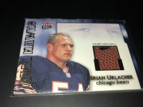 芝加哥熊队 NFL 传奇名人堂 大白熊 BRIAN URLACHER 新秀年 球皮卡
