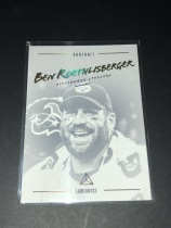 NFL 钢人队 BEN ROETHLISBERGER 肖像特卡