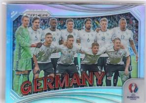 PA1 大赚哥专卖 2016年 足球prizm欧洲杯系列 德国队 全家福 银折 普折
