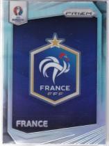 PA3 大赚哥专卖 2016年 足球prizm欧洲杯系列 法国 队标 银折 普折
