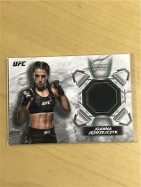 2018 Topps UFC (八角笼格斗)Joanna Jedrzejczyk 实物卡