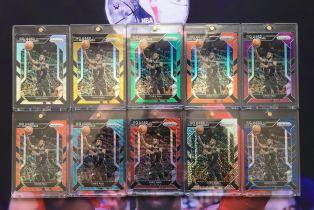 2016-17 Prizm 折射系列 火箭 克里斯 保罗 金折/10 mojo/25 橙折/25 青蓝折/25 银折等仅缺一张1/1 最美彩虹 值得收藏