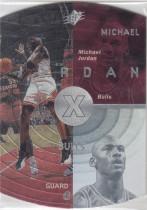 【YWD】1997-98 UD SPX 乔丹 经典蛋卡
