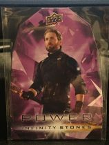 【Mokona是造物主】2018 UPPER DECK 漫威 复仇者联盟 美国队长 紫色无限原石 宇宙魔球 力量原石