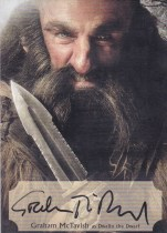 【Lucky球星卡店官方代拍-ZJ+0415】2016 CZE 寒武纪 霍比特人电影 Graham McTavish as Dwalin The Dwarf 格拉汉姆·麦克塔维什 演员签字 /75