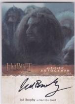 【Lucky球星卡店官方代拍-ZJ+0415】2016 CZE 寒武纪 霍比特人电影 Jed Brophy as Nori The Dwarf 演员签字