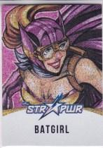【Lucky球星卡店官方代拍-ZJ+0415】2018 CZE 寒武纪 DC 炮火佳丽 Batgirl 蝙蝠少女 STR PWR Star Power 特卡 限量25编 大比例