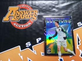 Y001《答案卡世界》拍卖 1819 donruss 杜蕾斯足球 比利时 库尔图瓦 optic版 折射 特卡!