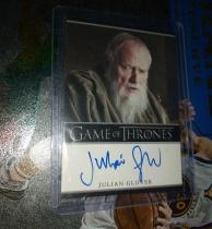 权力的游戏/冰与火之歌大学士派席尔第一季签字卡