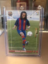 2003-04西甲 罗纳尔迪尼奥 巴塞罗那RC卡(nueuo fichaje)世界足球先生 巴西
