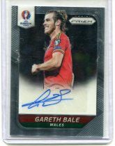 2016 PANINI PRIZM 欧洲国家杯 签字 GARETH BALE 加雷斯·贝尔