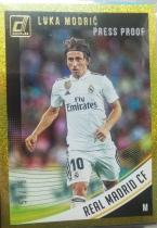 【1118】<<苏州卡通球星卡>> 足球 DONRUSS  金折  限量 /75  卢卡·莫德里奇(Luka Modric)