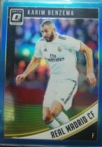 【1118】<<苏州卡通球星卡>> 足球 OPTIC 蓝折 限量 /149 卡里姆·本泽马(Karim Benzema)