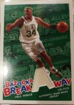 【1118】<<苏州卡通球星卡>> 2005 口香糖 系列 JERSEY 球衣 PAUL PIERCE 保罗 皮尔斯