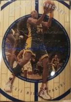 【1118】<<苏州卡通球星卡>> 1998 木头 质感卡 REGGIE MILLER 雷吉 米勒 蓝字 特卡 (N多年老卡,品如图)