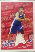 【1118】<<苏州卡通球星卡>> 2005 口香糖 系列 JERSEY 球衣 MARKO JARIC