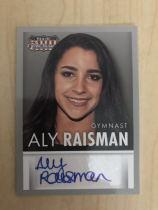 美国名人系列 大比例 Aly Raiseman体操运动员签字 凑套必备 ebay有价