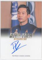 【L】2018 Star Trek 美剧 星际迷航 发现号  演员签字 卡签