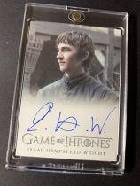 @moz@HBO 权力的游戏 bran stark 布兰史塔克 三眼乌鸦 权游最终的六国之王 最大黑马 最后的赢家 权游迷绝对要收藏一张的卡!