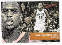 NBA球星卡  AFICIONADO系列 雄鹿队大将 米德尔顿