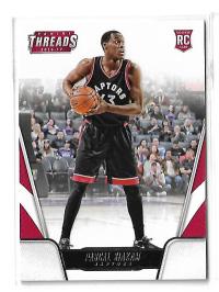 NBA球星卡 Threads系列 猛龙队 总决赛 猛将 西亚卡姆 新秀 RC