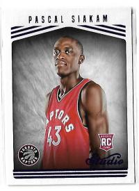 NBA球星卡 Studio系列 猛龙队 总决赛 猛将 西亚卡姆 新秀 RC 定妆照 特卡