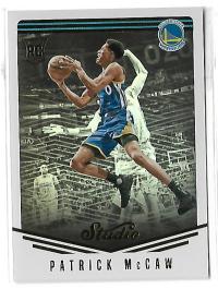 NBA球星卡 Studio系列 帕特里克 麦考 新秀 RC 定妆照 特卡