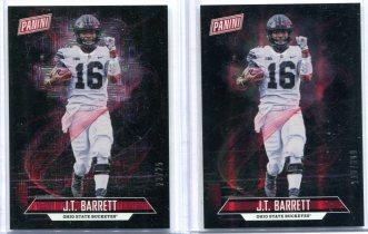 2018 PANINI FATHER'S DAY J.T. Barrett 两张打包 限量 25 399编