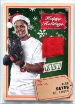 2017 PANINI BLACK FRIDAY 亚历克斯·雷耶斯/Alex Reyes 圣诞帽卡