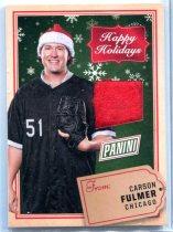 2017 PANINI BLACK FRIDAY 卡森·福尔默/Carson Fulmer 圣诞帽卡