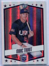 2018 PANINI FATHER'S DAY 特劳特/Mike Trout 限量 338/399