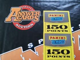 合体《答案卡世界》拍卖 帕尼尼 积分兑换卡 300分!!!