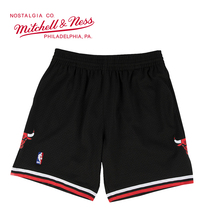 Mitchell & Ness系列 公牛球裤 SMSHAC18023-CBUBLCK97 XL号 加大号 黑色 1件